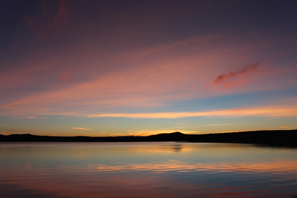 Elephant Butte Lake Sunrise